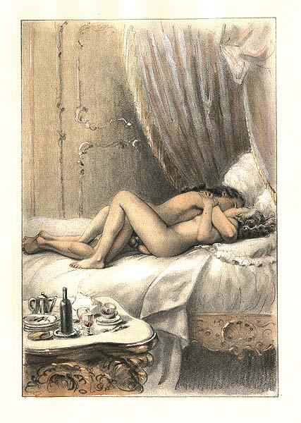Секс в изобразительном искусстве. . Моралистам и ханжам не стоит смотреть.